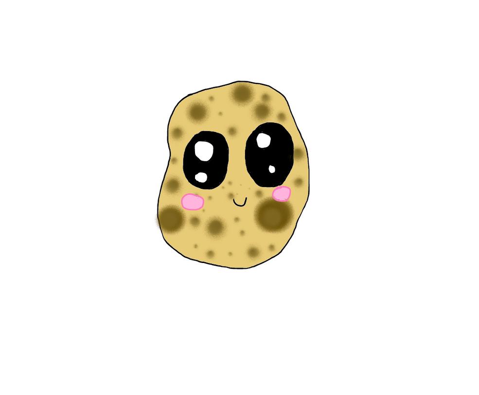 Kawaii potato