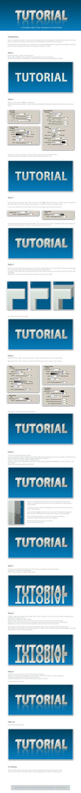 FV: Shiny 3D Fonts Tutorial by janvanlysebettens