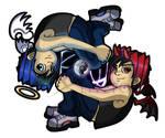 Koji and Blaze Chibis NEW