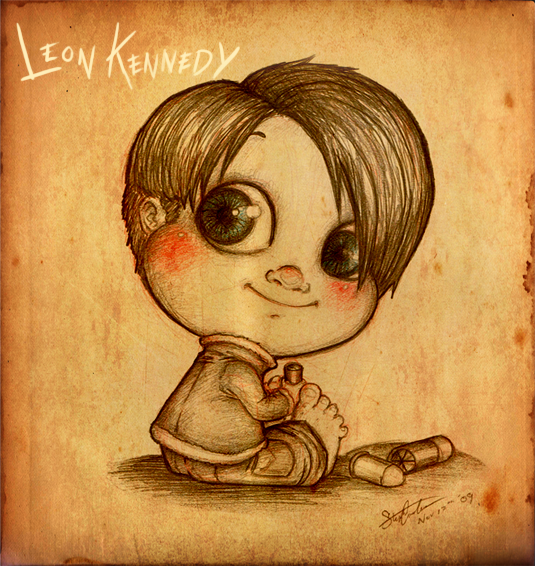 Baby Collection: Leon Kennedy by SilentImagery