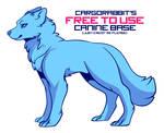 Free To Use Canine Base