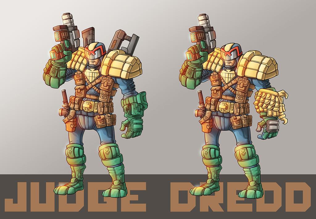 Judge Dredd remake by phamngocthang