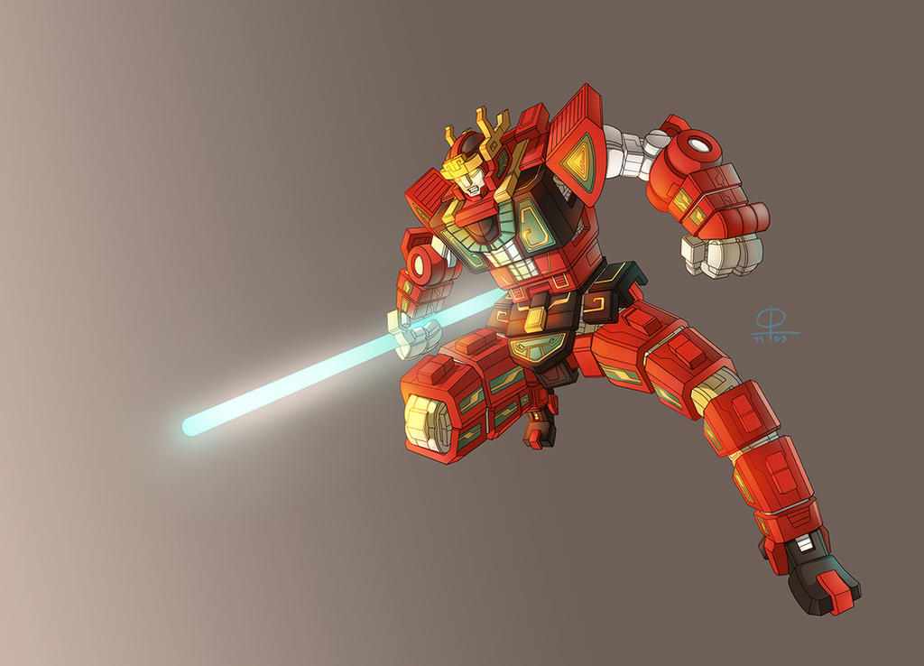 RyuseiOh Warrior Change by phamngocthang