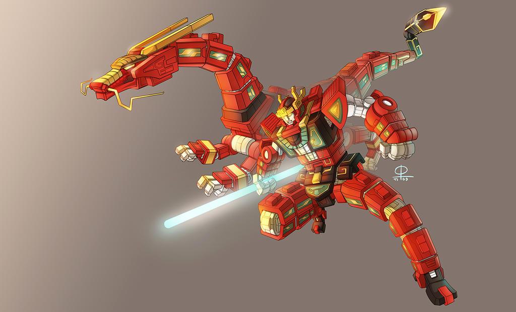 RyuseiOh Warrior Change 2.0 by phamngocthang