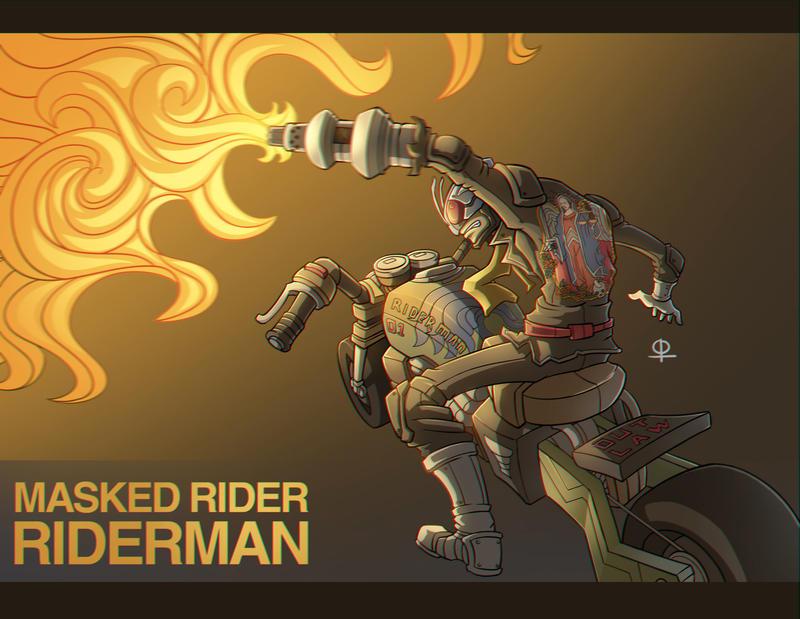 Riderman by phamngocthang