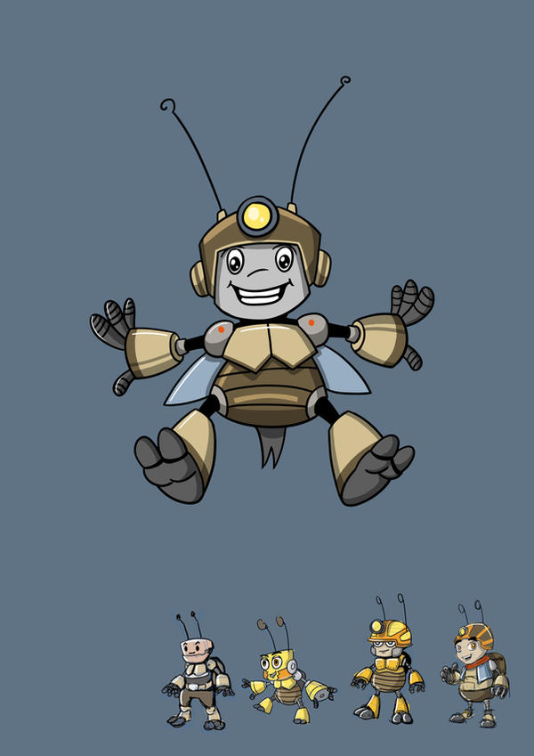 robot cricket by phamngocthang