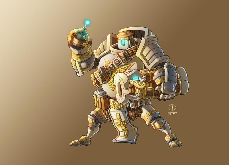Heavy Armor Bomberman by phamngocthang