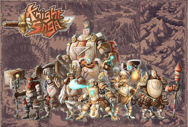 The King and his Knights by phamngocthang