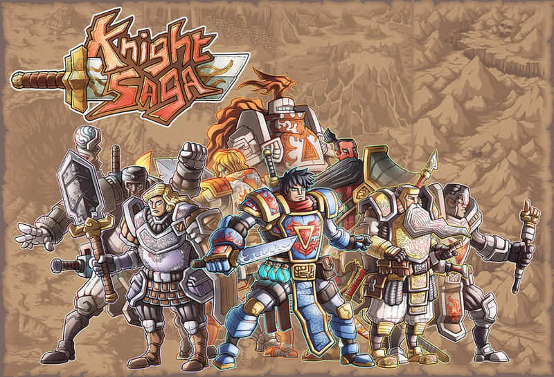 The Knight Saga by phamngocthang
