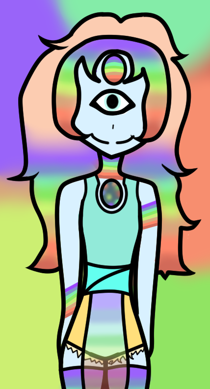 Rainbow Pearl by Nightmarezombiegirl