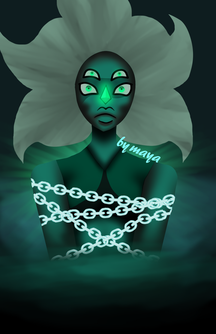 Malachite Fanart by Nightmarezombiegirl
