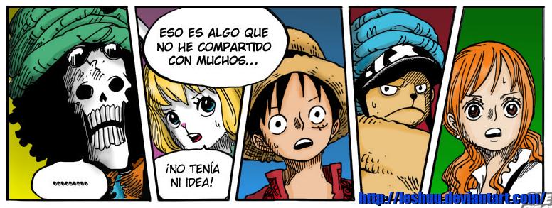 One Piece 830 - Mugiwaras by LESHUU