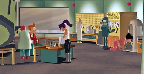 In the strange laboratory