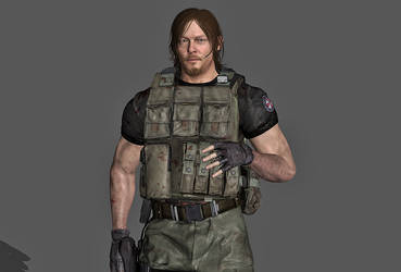 {XPS} RE3 - Norman Reedus by MyllaDinX