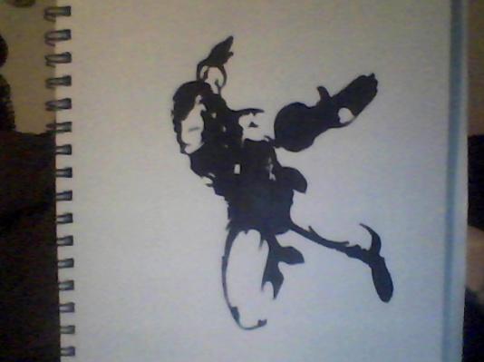 Iron Man Silhouette by Direngrey89 on DeviantArt