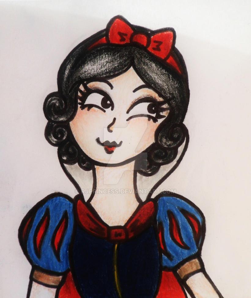 Snow White by Rjprincess