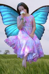 Floating Fairy Girl