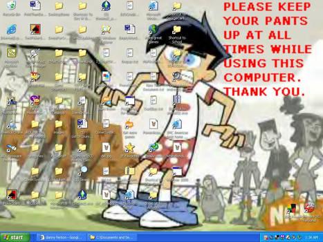 Pantless Danny Desktop