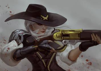 Ashe fanart by Scykiazor