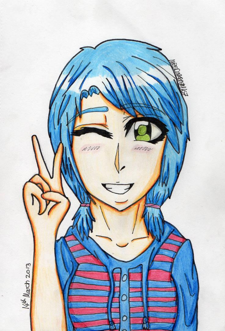 DestinyBlue Portrait by Dark-Angel167