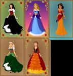 Mothers of Disney Princesses
