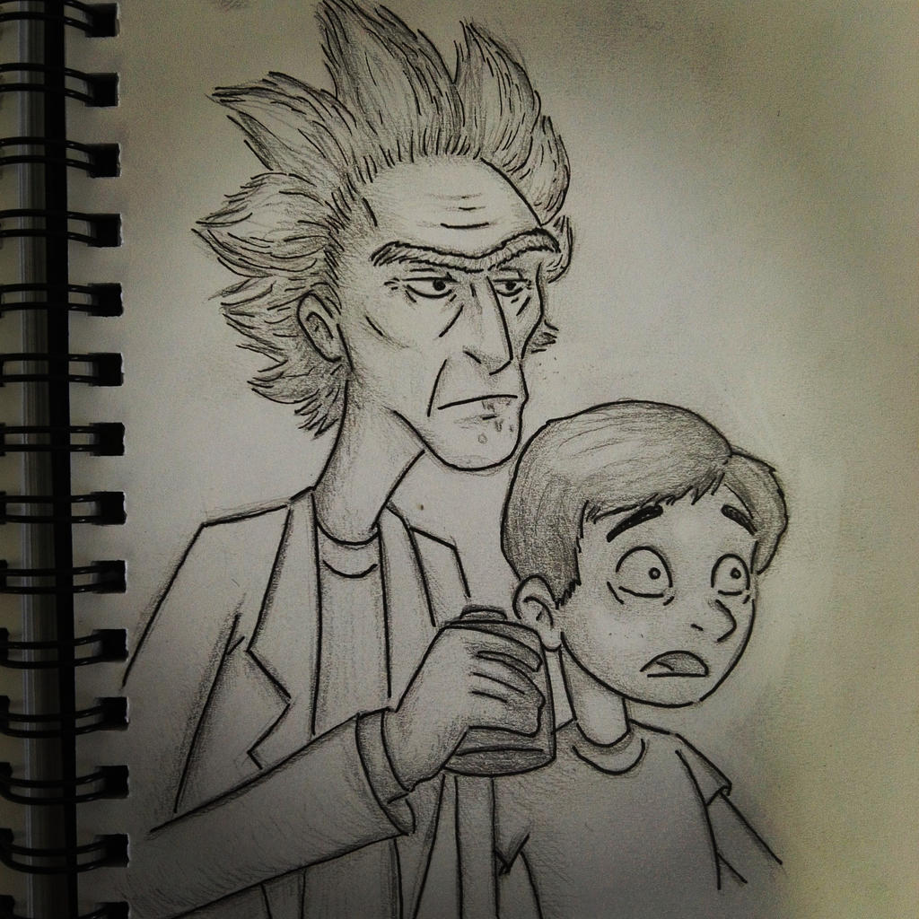 C'mon M-Morty let's go, this place blows by RoninKai