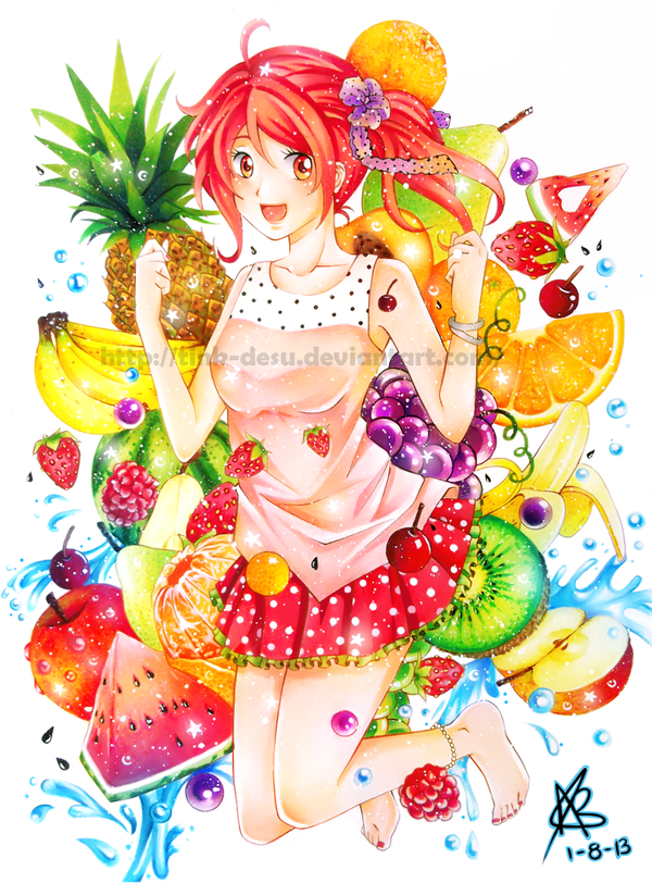 -Pick a Fruit!- by Tink-desu