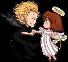 HM - Angel Meets Demon by ox-Honey-Bee-xo