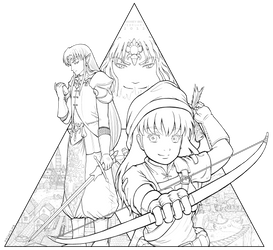 SxK - Zelda Crossover by ox-Honey-Bee-xo