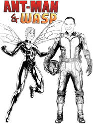 AntMan and Wasp by TalkingBull