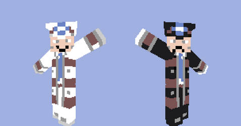 Minecraft Emmet and Ingo by DeathByDumb
