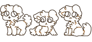 f2u floofy dog bases