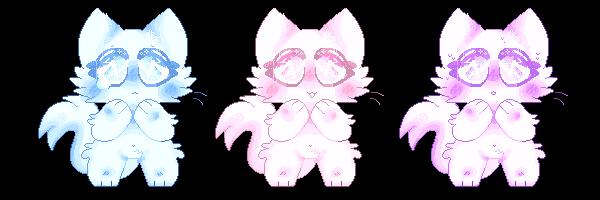 f2u pastel kitty pixels by paw-kitten