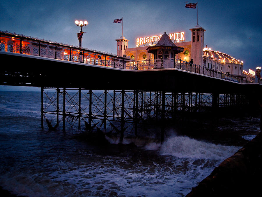 Brighton Pier by FreckledMoon