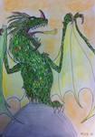 Acadian Green Dragon by Viperwings