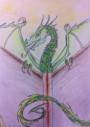 Book Wyrm by Viperwings