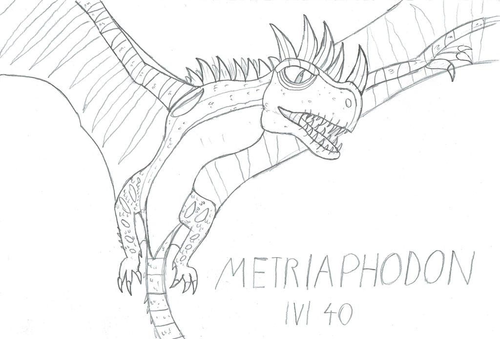 Metriaphodon lvl 40 by Viperwings