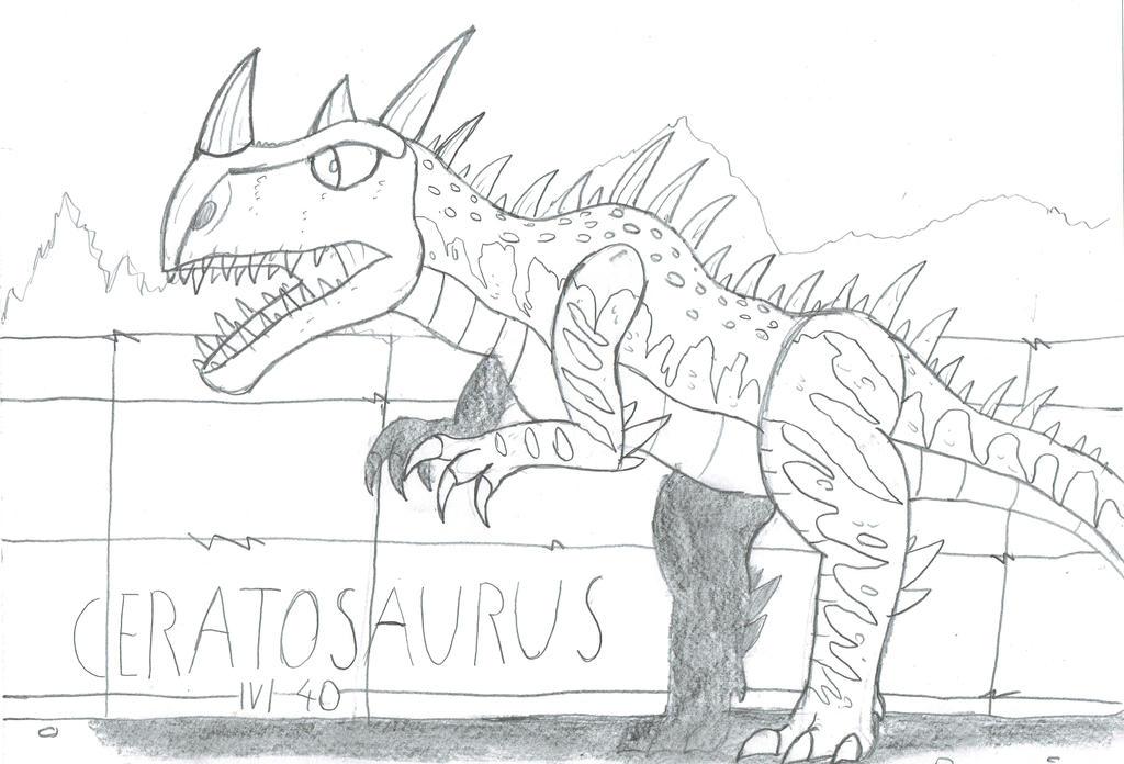 Ceratosaurus lvl40 by Viperwings