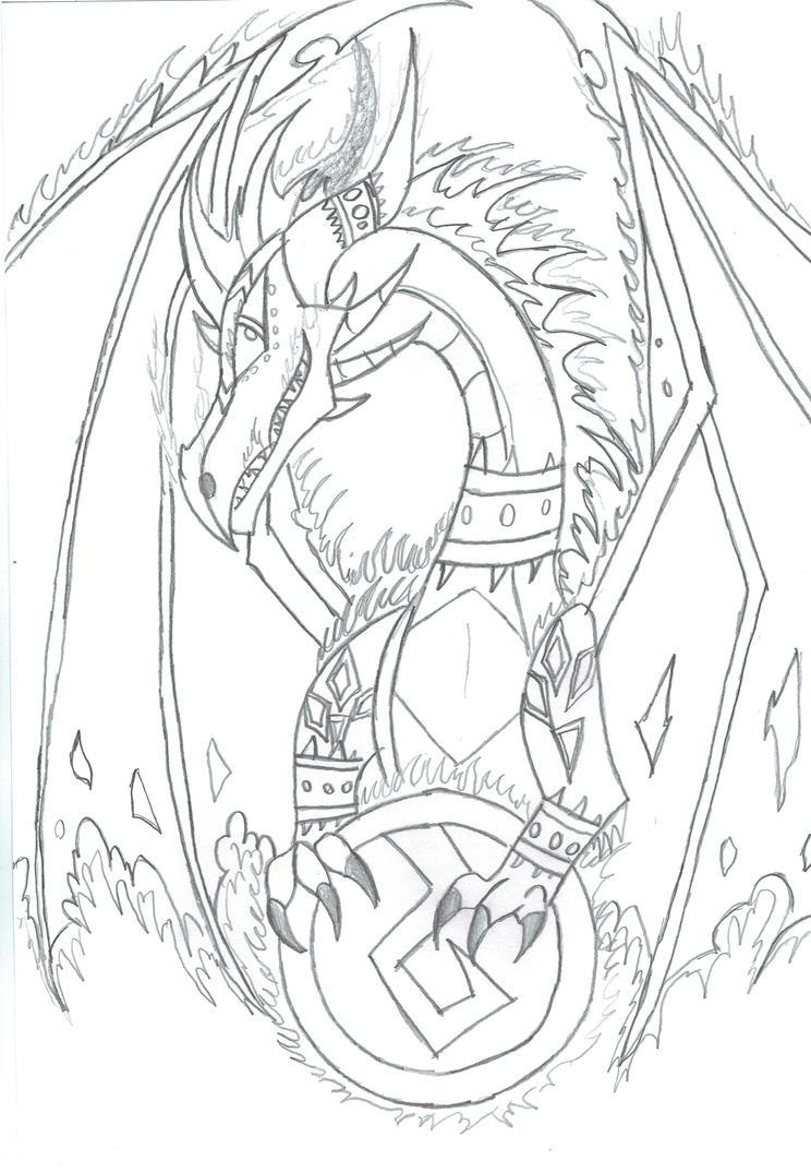 Feuriah The Fury Guardian by Viperwings