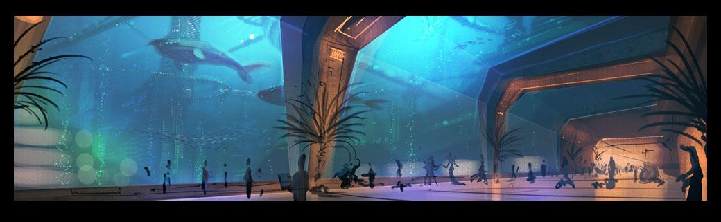 Underwater Metropolis by walachnia