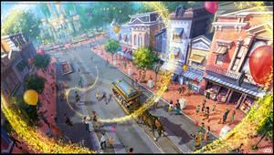 Disneyland by walachnia