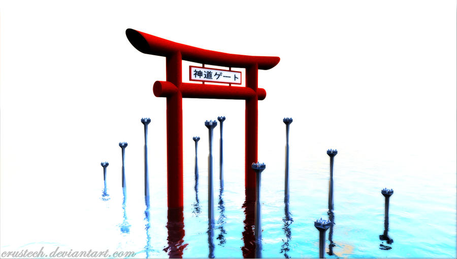 Shinto Shrine Drawing /art/shinto Shrine Clipart