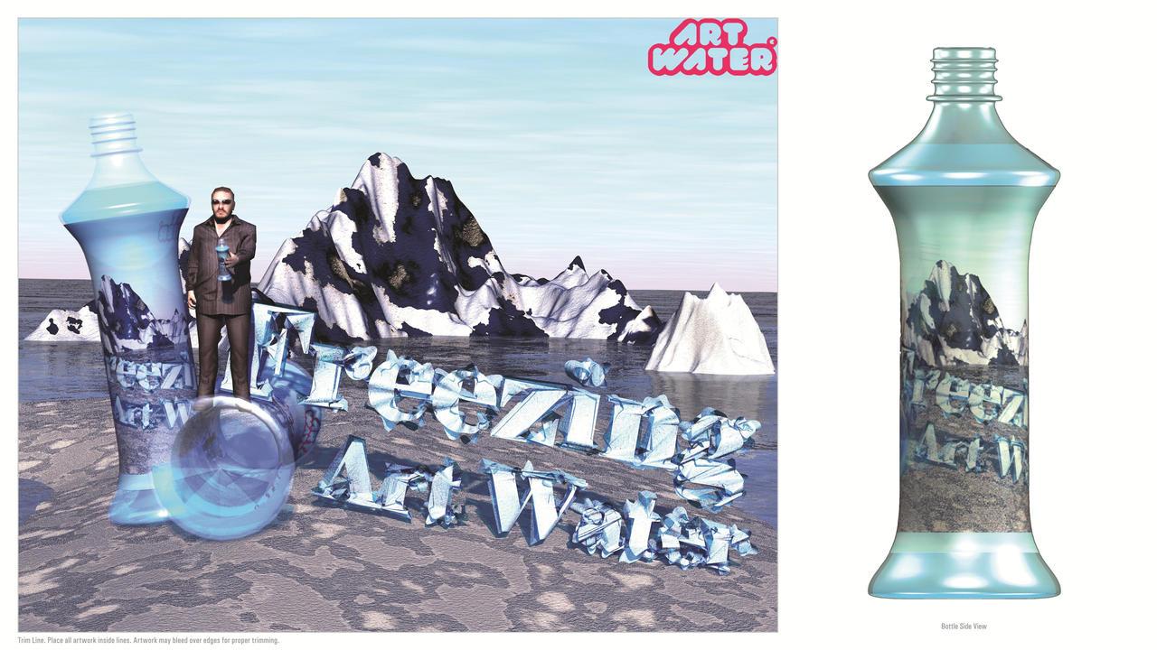 Freezing Art Water by Crustech