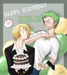 Happy B-day Zoro