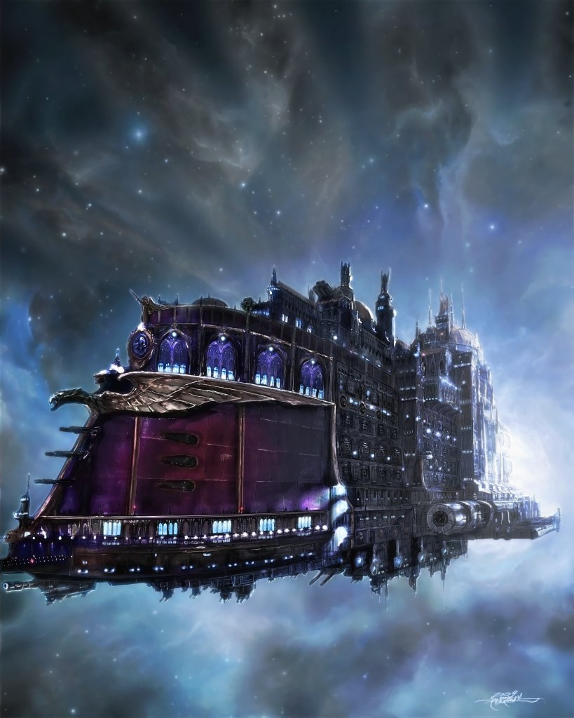 [GALERIE] Artworks Warhammer40k_SouvereignVenture_by_TheFirstAngel