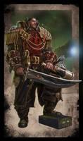 Warhammer 40k - Rogue Trader - Savrus Trask