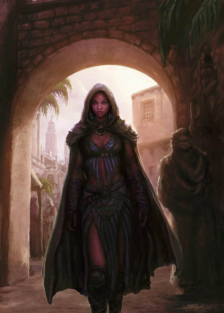 Shadowar - Kishery by TheFirstAngel