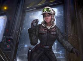 Star Wars - Rebel Intel Officer by TheFirstAngel