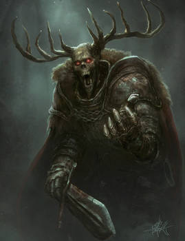 The Horned King - Accursed RPG