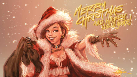 Merry Christmas and Happy Newyear! by TheFirstAngel